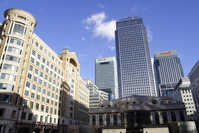 The Canary Wharf - London's financial district
