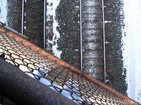 near the tracks 3
