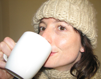 Drinking Coffee 3