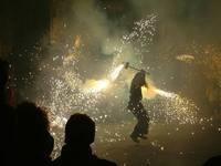 Firework Display Barcelona