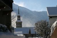 snow landscape - paysage de neige