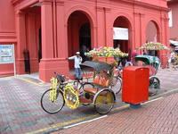 Pedal Rickshaw, Malacca