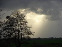 Shunsine through clouds