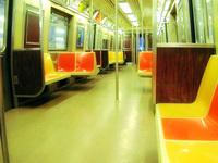 nyc subway interior