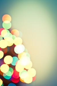 Christmas Lights Bokeh 1