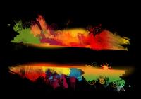 Colorful Grunge Frame