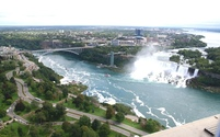 Niagara Falls seen from above 4