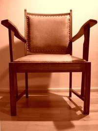 Chair sepia