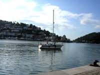 Dartmouth sailing boat