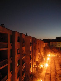 dawn at Szeged