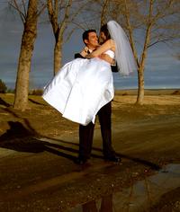 Groom Carrying Bride 1