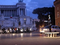 traffic policeman in Roma