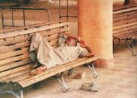 Egyptian Man Sleeping