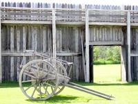 wall and wagon