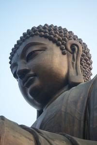 Buddah Statue in Hong Kong