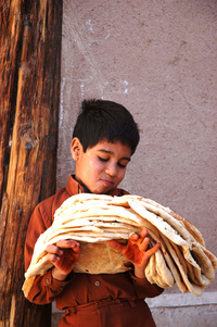boy with breads