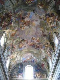 Rome - Pozzo Saint Ignace