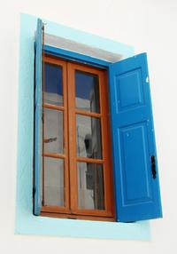 typical greek window