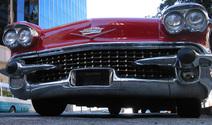 1958 red Cadallic Eldora