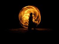 Kid Playing Torch