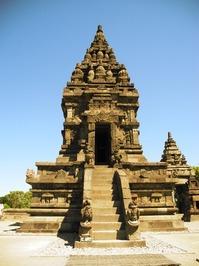 The temples of Prambanan