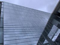 dynamic glass facade