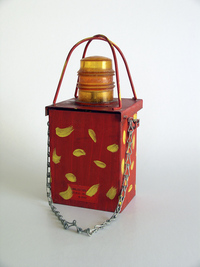 Building site lantern