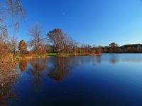 quiet day in park