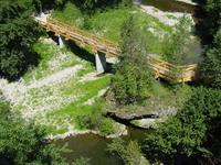 bridge over nothin