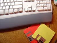 Keyboard and Disks