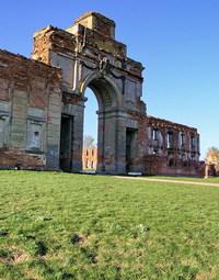 Sapega castle in Ruzhiany (Belarus)