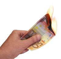 Hands 7: Money burned