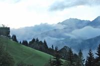 Misty mountain valley 1