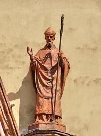 Saint in the church