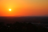 Red & Orange Sunset - VA