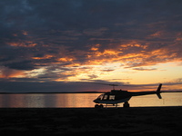 Night Time at The Great Slave Lake