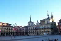 Plaza mayor, Leon Spain