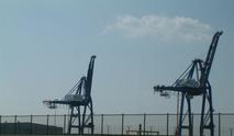 Cargo Shipping Cranes 2