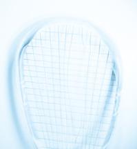 Squash racquet Broken strings