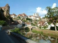 Semur en Auxois, Burgundy, Fra