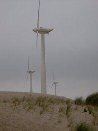 windmills near the coast 2