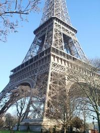 Eiffel Tower in February