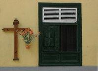 Cross and window