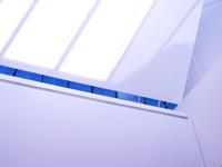 Clean blue lines