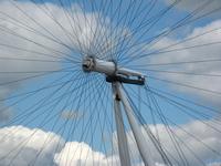 London Eye or giant bike