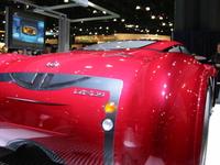 lexus red car