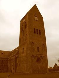 church tower in Stedum(Netherlands) 2