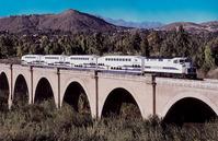 Metrolink on bridge