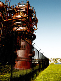 Gaswork Park Seattle WA