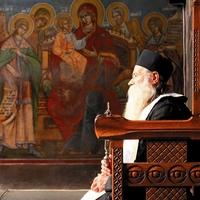 Orthodox monk in Romania